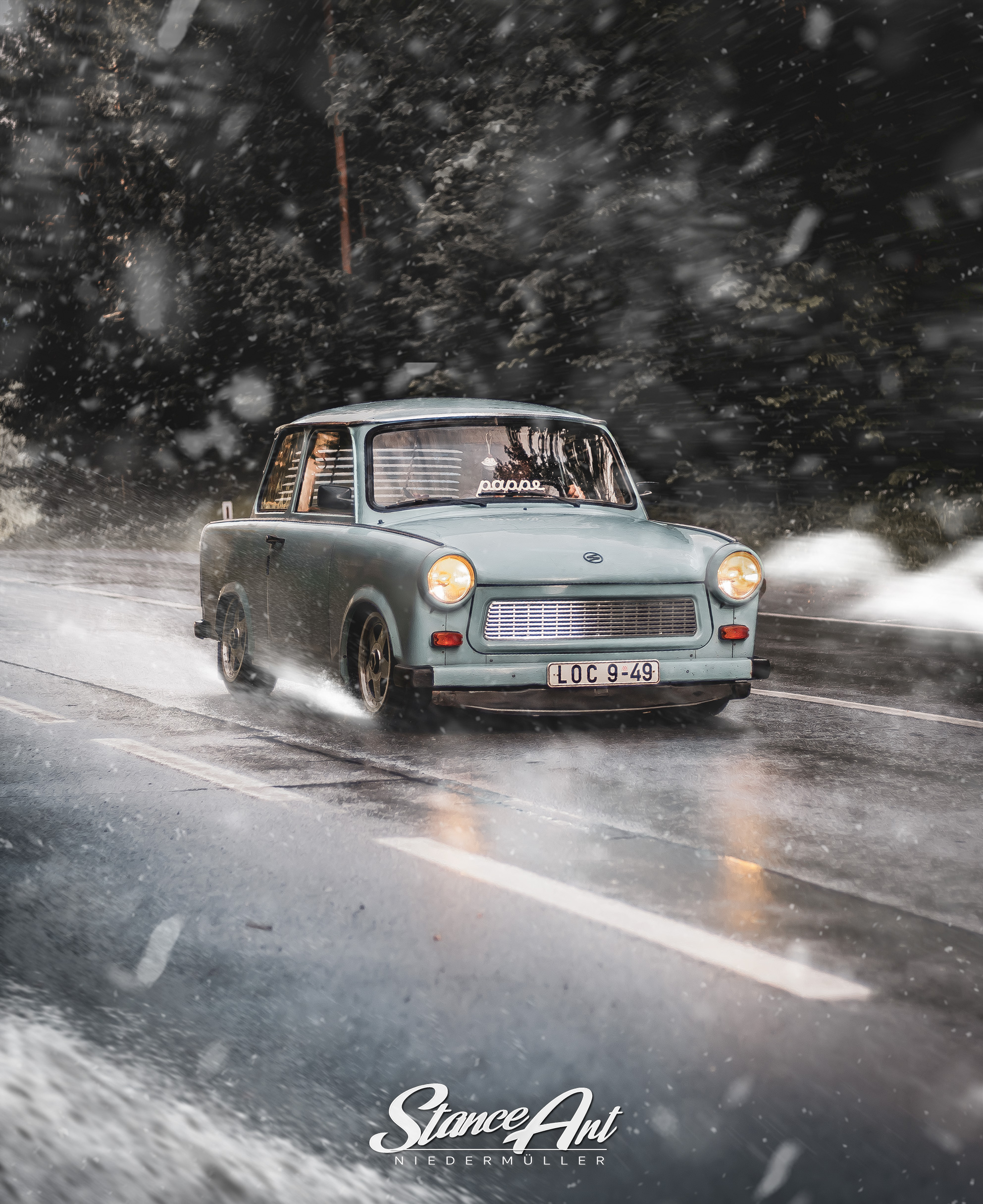 Trabbi_auto_Winter